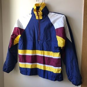 80s 90s Vintage Kids Windbreaker